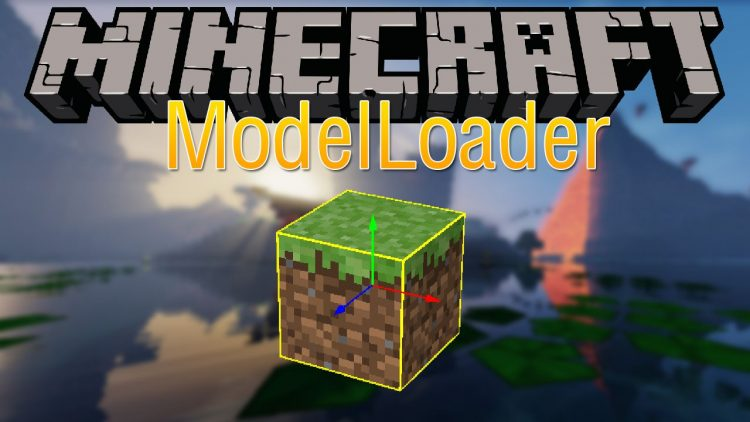 modelloader mod for minecraft logo