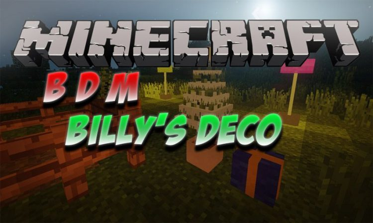 BDM mod for Minecraft logo