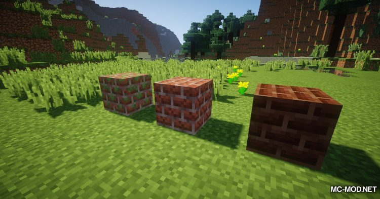 Brickery mod for Minecraft (11)