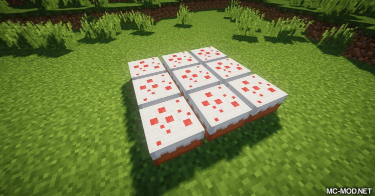 Cake Chomps mod for Minecraft (12)
