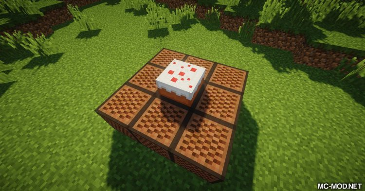 Cake Chomps mod for Minecraft (13)