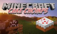 Cake Chomps mod for Minecraft logo