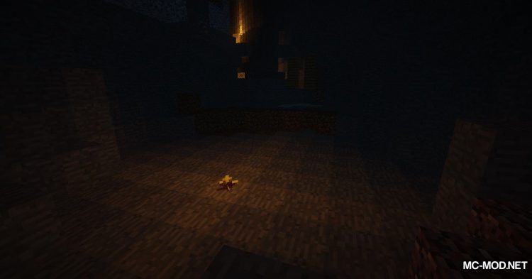 Cave Root mod for Minecraft (4)