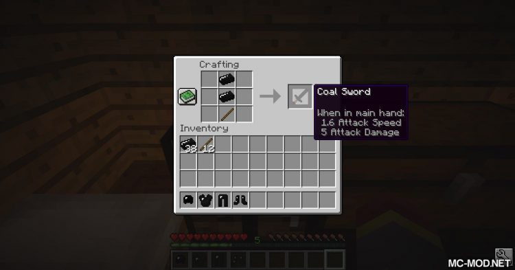 Coal Tools Mod mod for Minecraft (8)