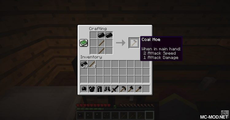 Coal Tools Mod mod for Minecraft (9)
