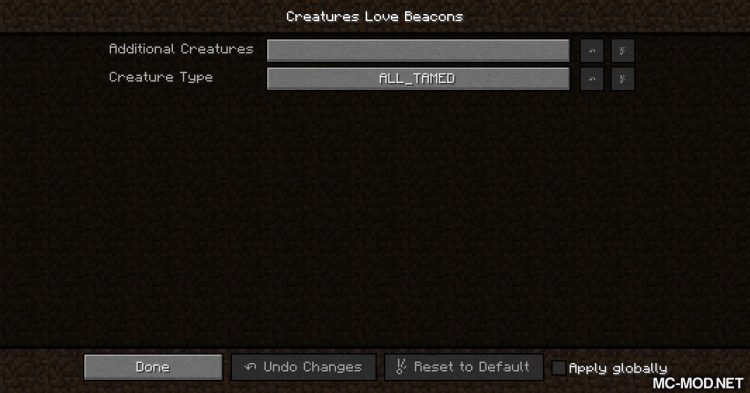 Creatures Love Beacons mod for Minecraft (18)