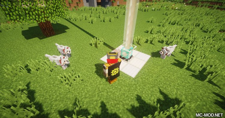 Creatures Love Beacons mod for Minecraft (7)