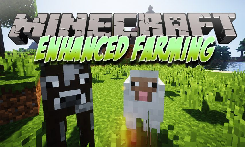 Enhanced Farming mod for Minecraft logo