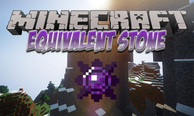 Equivalent Stone mod for Minecraft logo