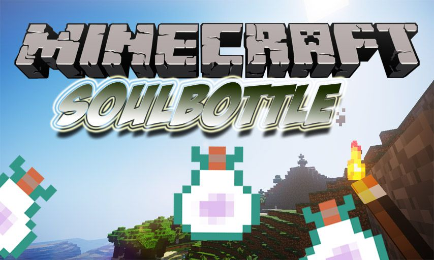 SoulBottle mod for Minecraft logo