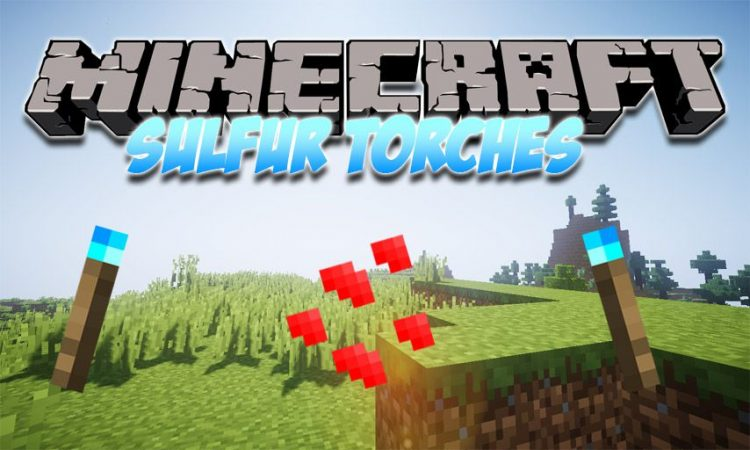 Sulfur Torches mod for Minecraft logo