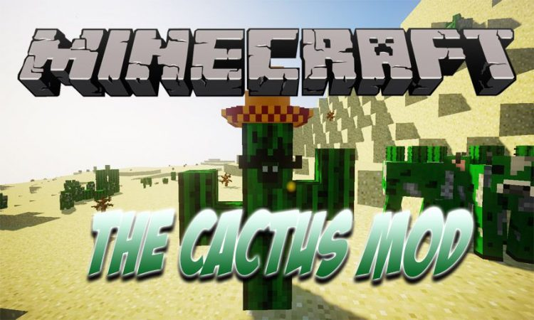 The Cactus Mod mod for Minecraft logo
