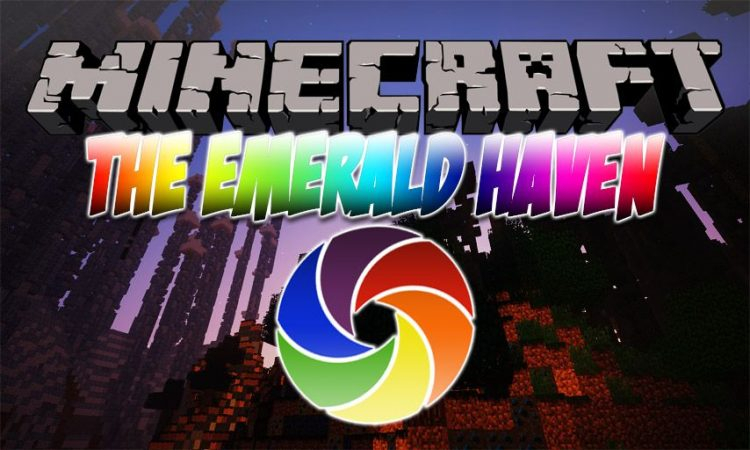 The Emerald Haven mod for Minecraft logo