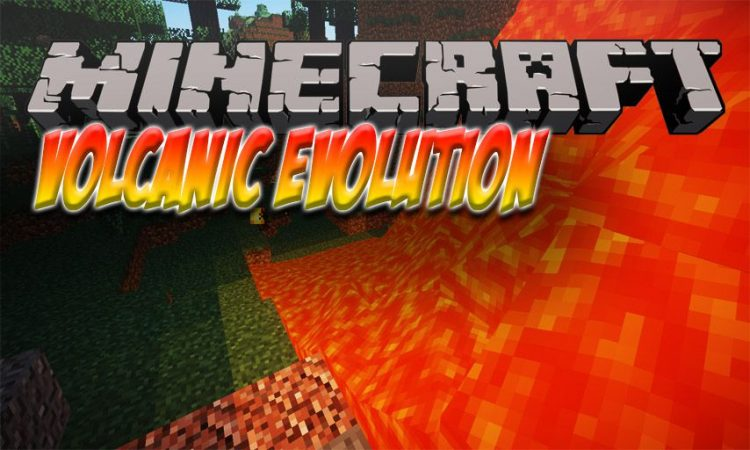 Volcanic Evolution mod for Minecraft logo