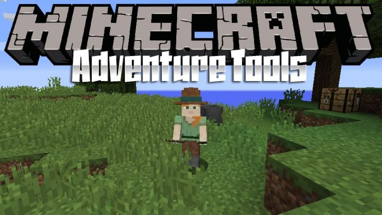 Adventure Tools mod for minecraft logo