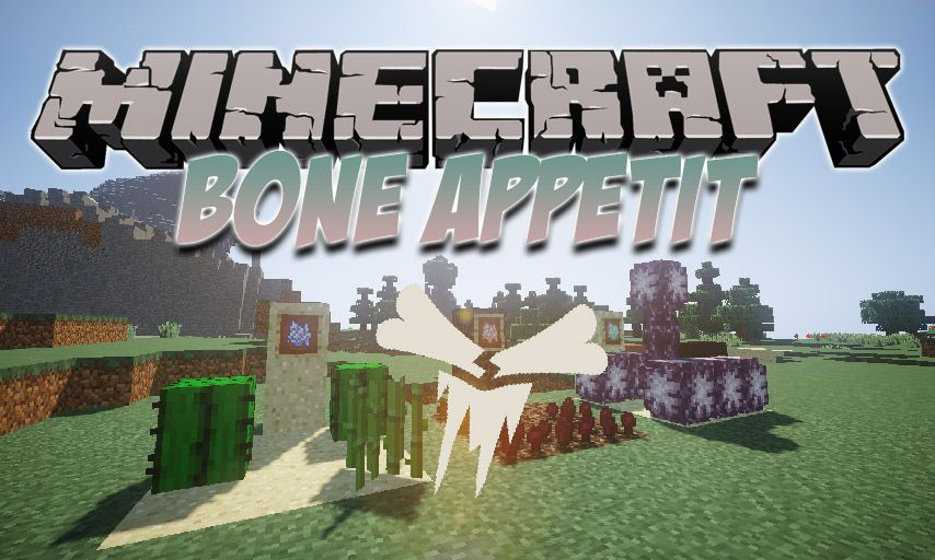Bone Appetit mod for Minecraft logo