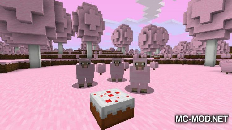 Candy World mod for minecraft 01
