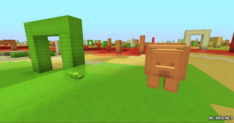 Candy World mod for minecraft 04