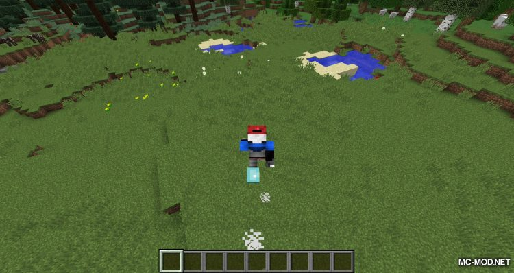 Cloud Boots mod for minecraft 07