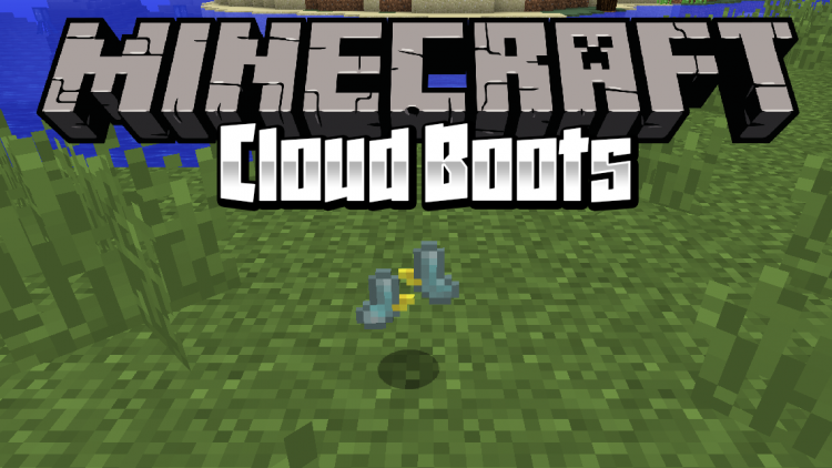 Cloud Boots mod for minecraft logo