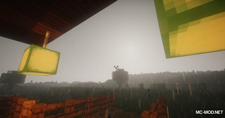 Collecting Rain mod for Minecraft (3)
