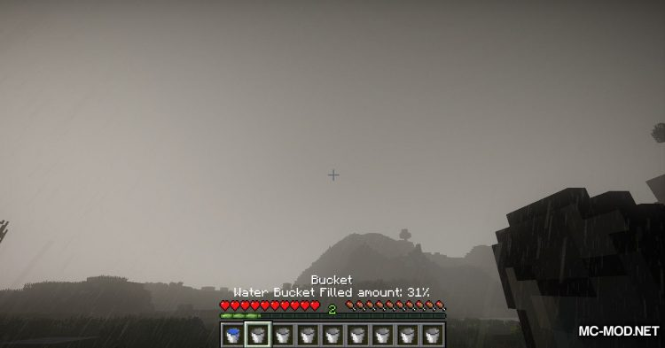 Collecting Rain mod for Minecraft (8)