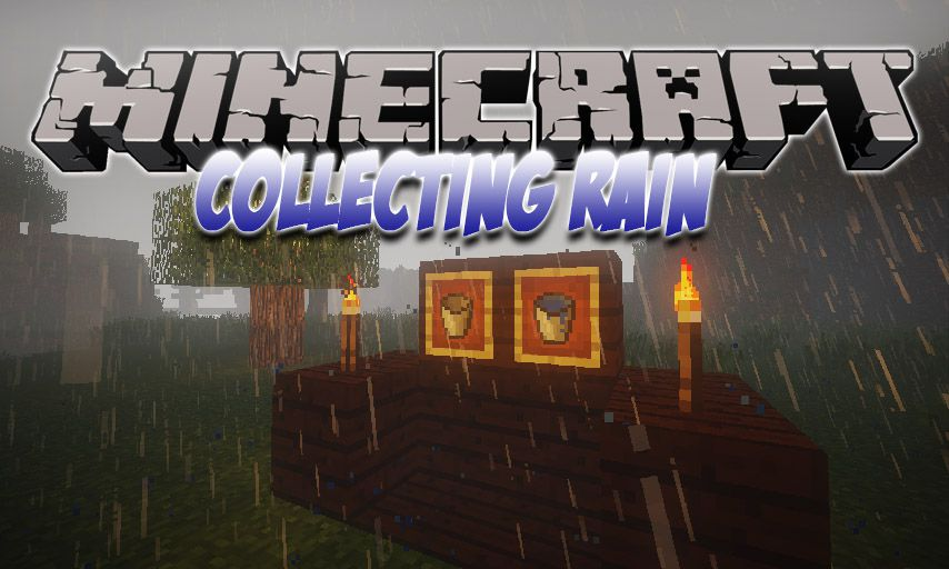 Collecting Rain mod for Minecraft logo