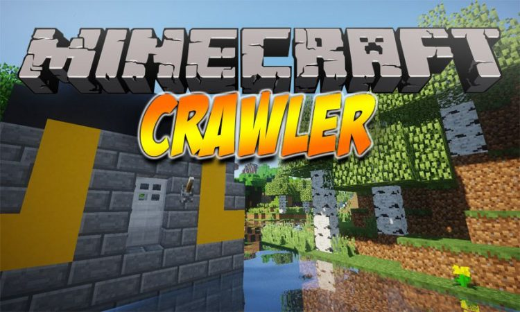 Crawler mod for Minecraft logo