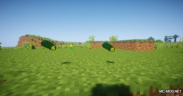 CucumberMod mod for Minecraft (11)