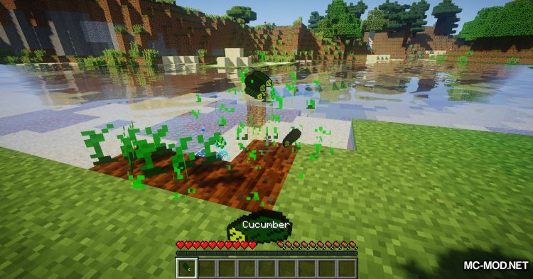 CucumberMod mod for Minecraft (7)