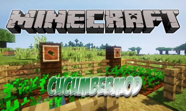 CucumberMod mod for Minecraft logo