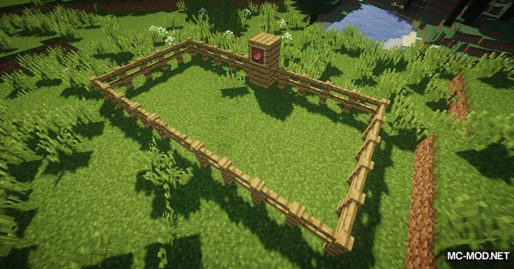 DesirePaths mod for Minecraft (7)