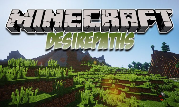 DesirePaths mod for Minecraft logo