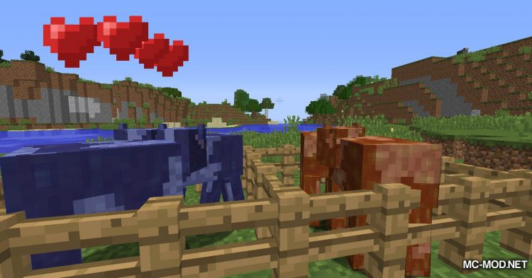 Fluid Cows mod for Minecraft (13)