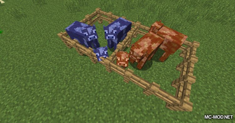 Fluid Cows mod for Minecraft (14)