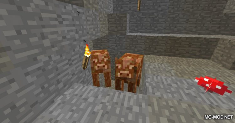 Fluid Cows mod for Minecraft (4)