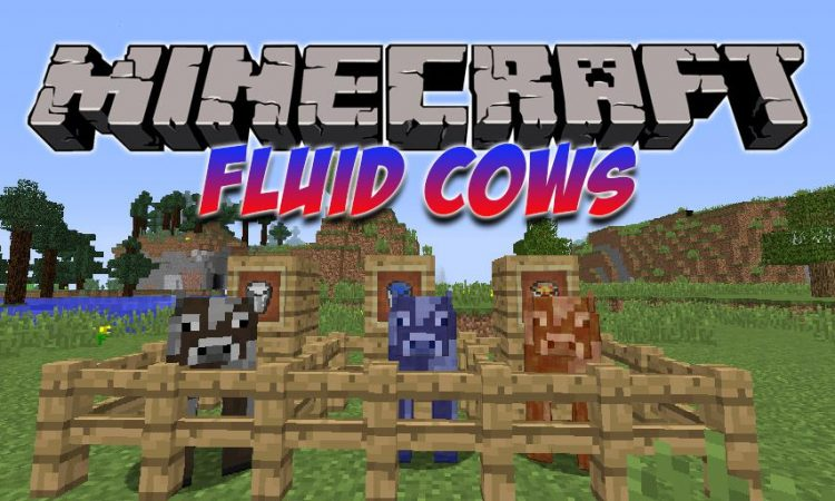 Fluid Cows mod for Minecraft logo