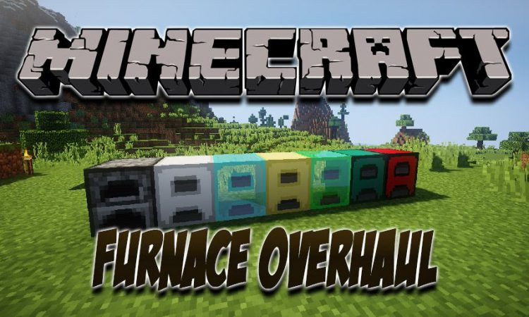 Furnace Overhaul mod for Minecraft logo