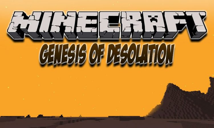Genesis of Desolation mod for Minecraft logo