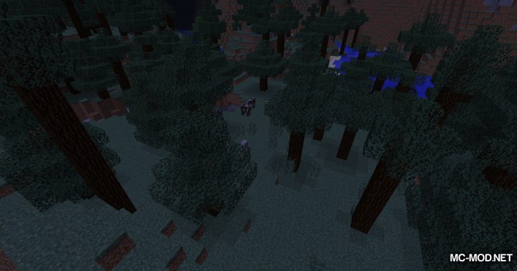 Infinite Night mod for Minecraft (4)