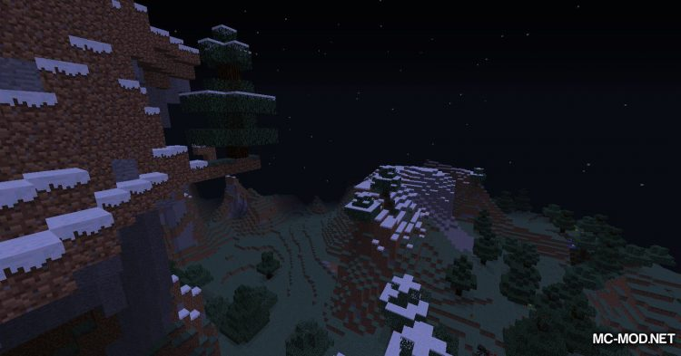 Infinite Night mod for Minecraft (9)