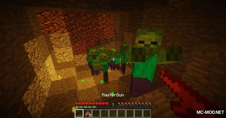 Master Weapons mod for Minecraft (11)