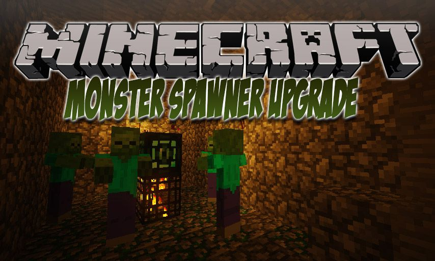 Monster Spawner Upgrade mod for Minecraft logo