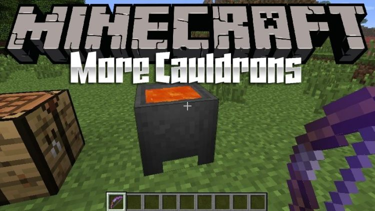 More Cauldron mod for minecraft logo