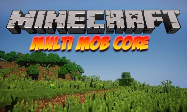 Multi Mob Core mod for Minecraft logo