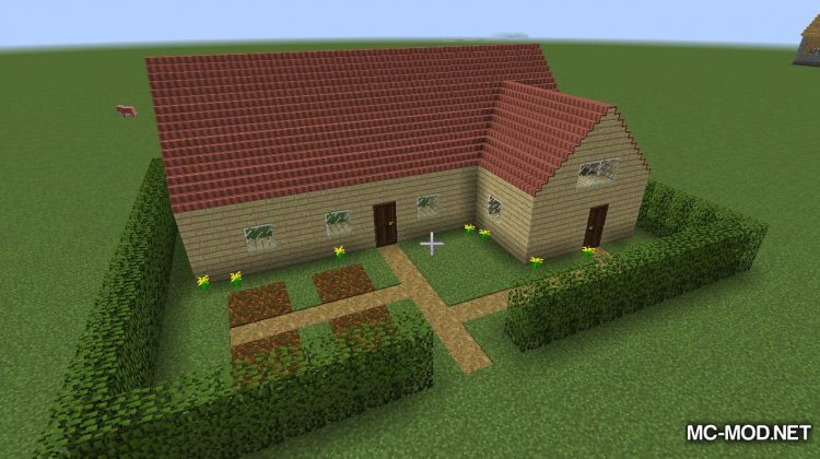 Not Enough Roofs Mod for minecraft 02