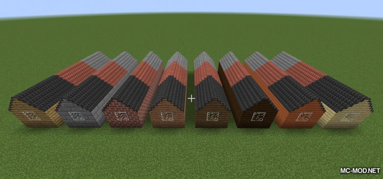 Not Enough Roofs Mod for minecraft 03