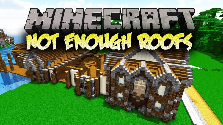 Not Enough Roofs Mod for minecraft logo