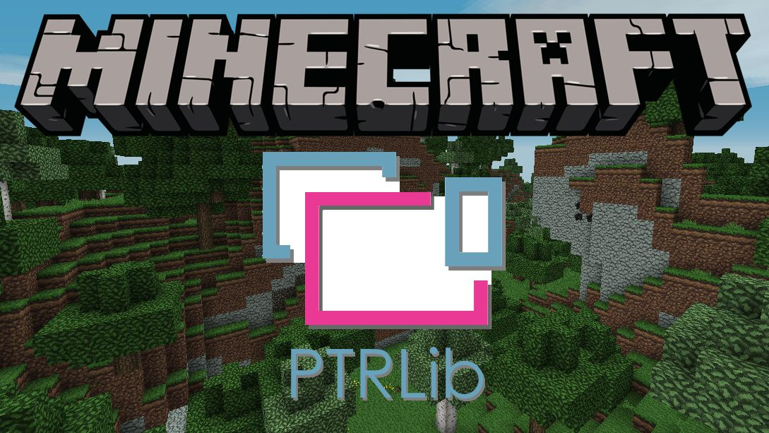 PTRLib mod for minecraft logo