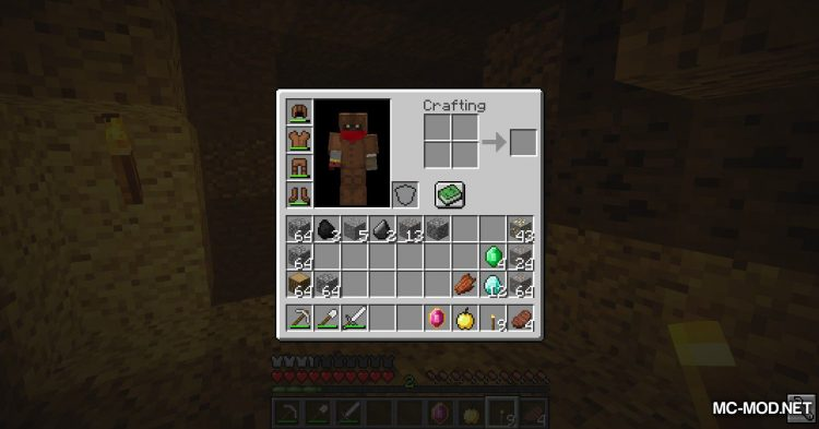 Pendant of Life mod for Minecraft (10)
